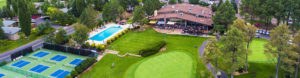 Aerial photo of Continental Country Club in Flagstaff, AZ.