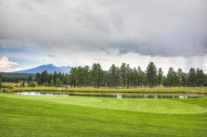 The Flagstaff Ranch golf club in Flagstaff, AZ.