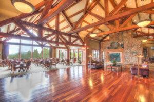Flagstaff Ranch golf club interior