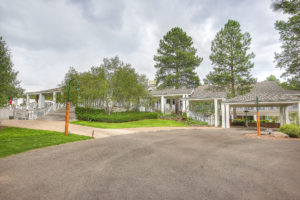 Photo of the Forest Highlands country club in Flagstaff, AZ.