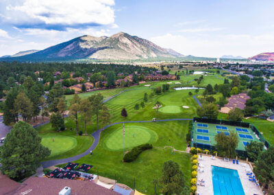 Continental Country Club Aerial 2