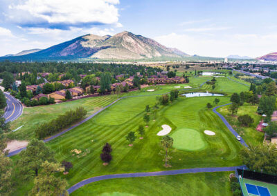Continental Country Club Aerial 3
