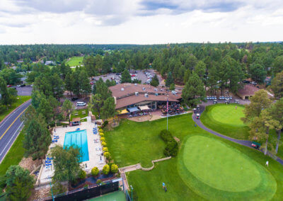 Continental Country Club Aerial 5