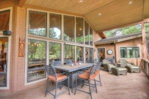 Photo of porch on 98-2470 Eva Circle, Flagstaff, AZ.