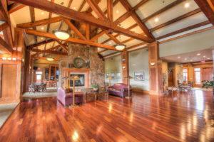 Indoor photo of the Flastaff Ranch country club in Flagstaff, AZ.