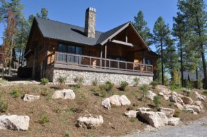 Recently sold house in Pine Canyon in Flagstaff, AZ.