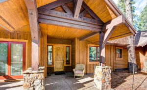 Front door of 2059 Paleo Place Flagstaff AZ Continental Country Club