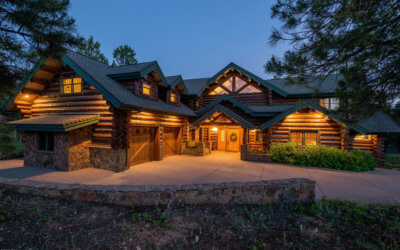 Luxury Log Mansion—$1.9 Million Pine Canyon Home Sold