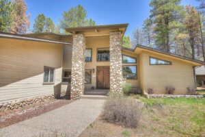 Entryway for Forest Highlands home 6-6309 Griffiths Spring Flagstaff AZ