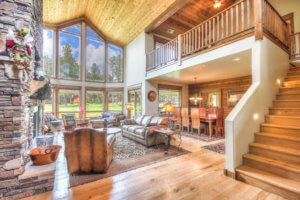 Interior of Forest Highland's 65-2872 Bear Howard Flagstaff AZ
