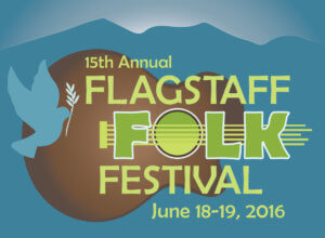 Flagstaff Folk Festival graphic